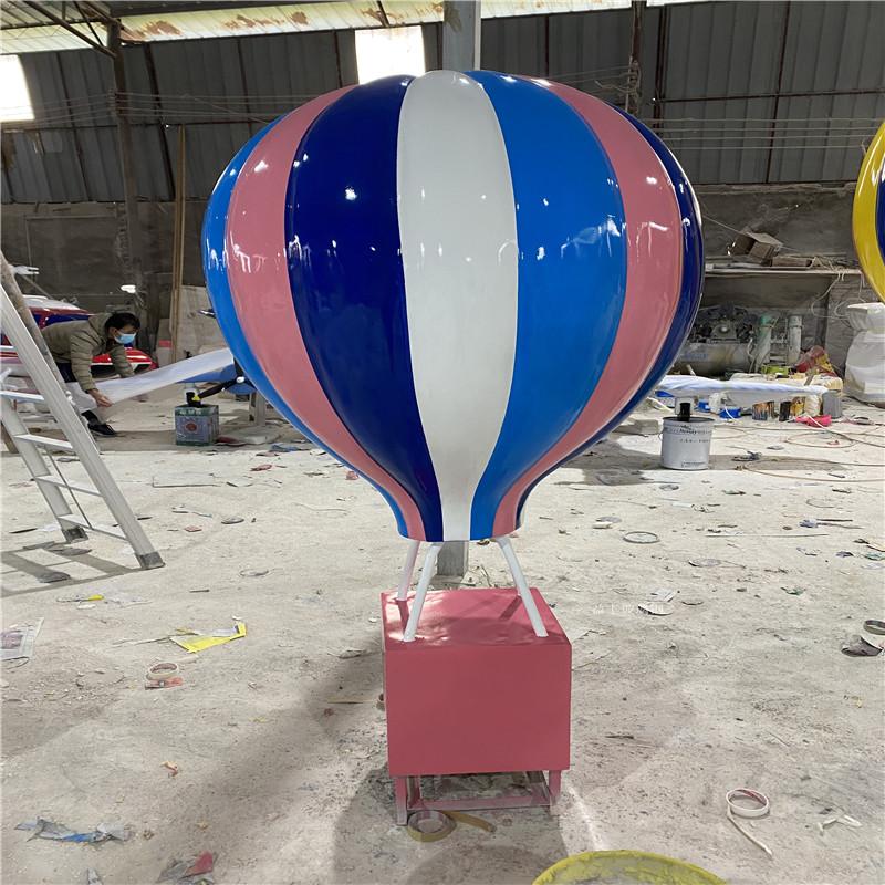 海南玻璃钢气球雕塑 楼盘广场仿真热气球雕塑道具954462585