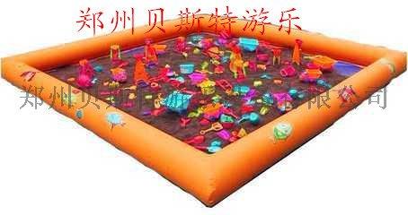黑龍江哈爾濱充氣水池廠家熱賣沙灘池釣魚池62718475