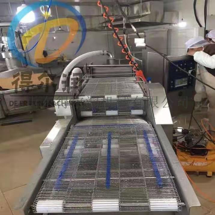 自动裹糠设备 食品裹面包屑雪花片机器871850892