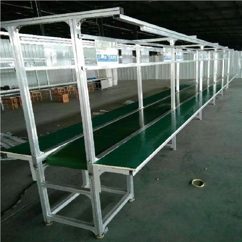 廠家直銷綠色防靜電皮帶線 輸送機流水線 高效流暢839178552