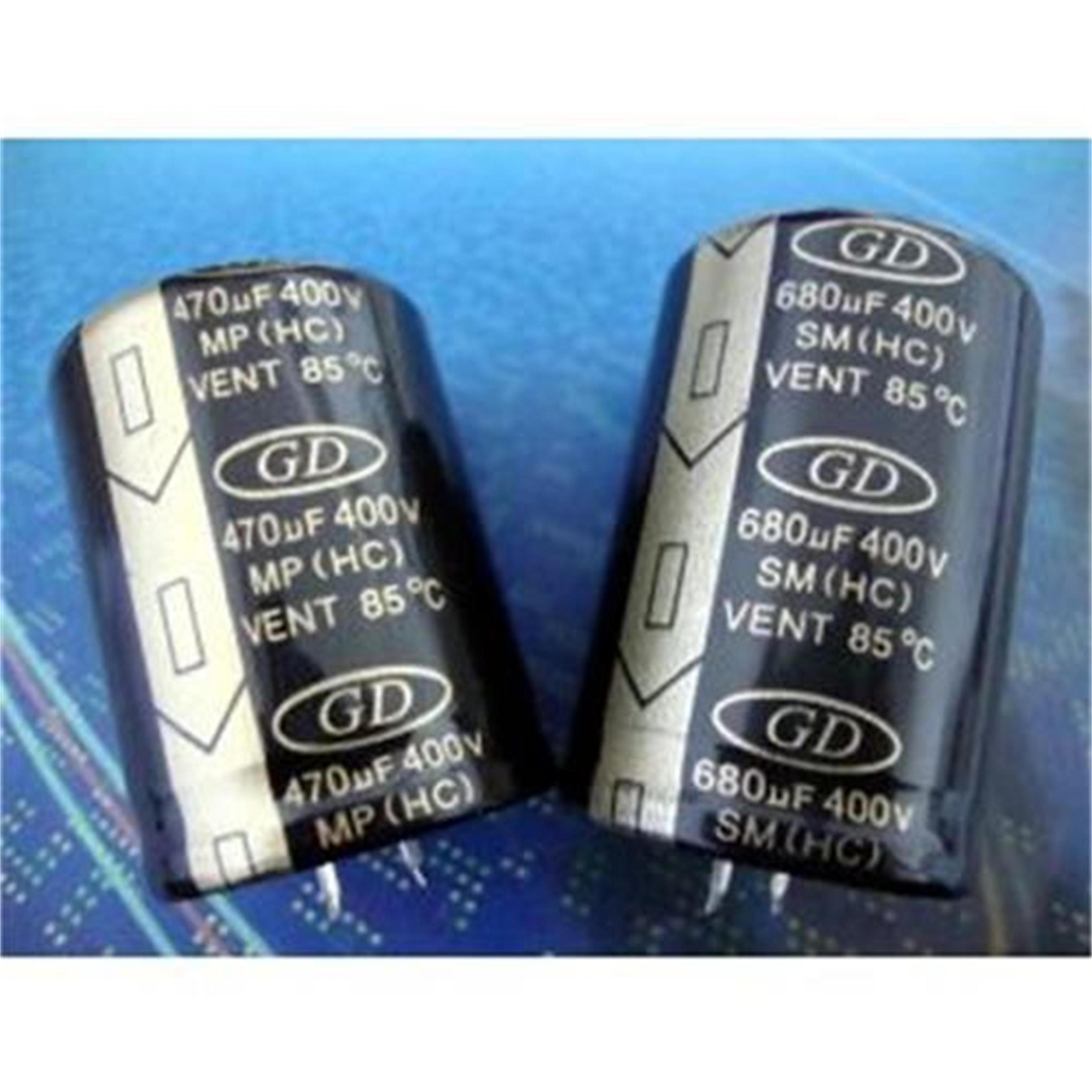 牛角铝电解电容HP820UF200V尺寸30x5045484985