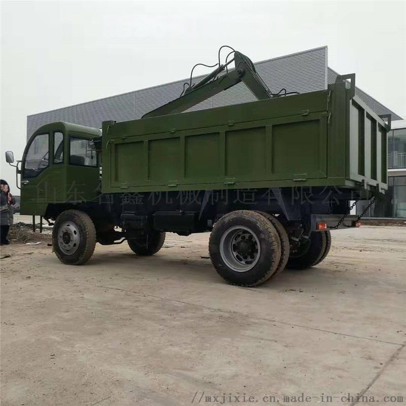 轮式多功能吊挖一体机 园林绿化挖吊一体机110200012