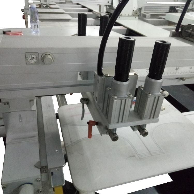 厂家供应全自动椭圆印花机 皮革平网印花机服装印花机817061775