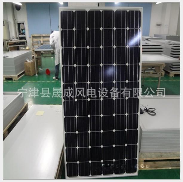 廠家直銷 太陽能發電組 單晶的A片光伏板 太陽能電池板24010602