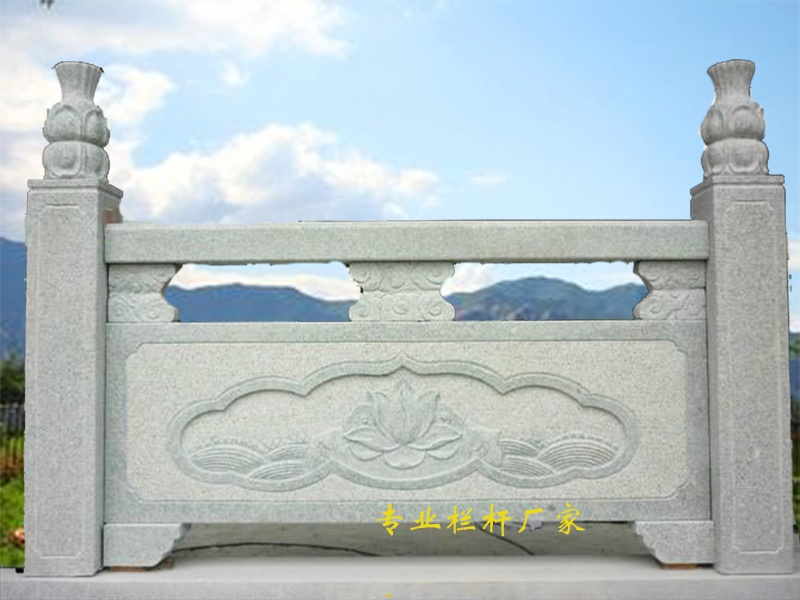 石栏杆图片_石材栏杆价格_石雕栏杆_河堤石材护栏79597292