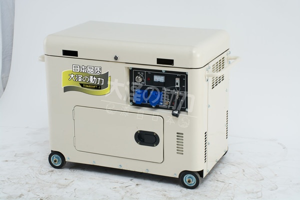 6kw静音柴油发电机大泽动力783818382