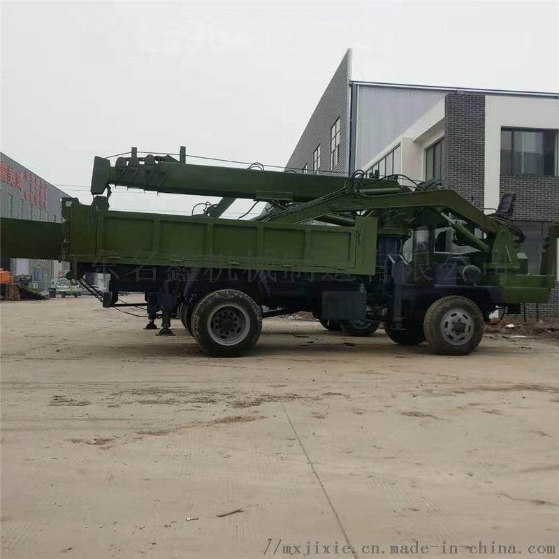 轮式多功能吊挖一体机 园林绿化挖吊一体机831438992