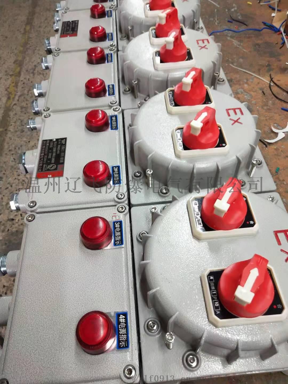 单电机一控一防爆阀门控制箱110210402
