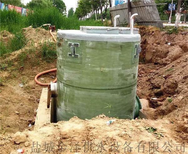 直徑3米高度6米玻璃鋼一體化污水提升泵站851535685