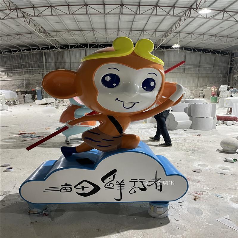 企业吉祥物卡通雕塑 户外玻璃钢卡通雕塑 大型摆件951630705