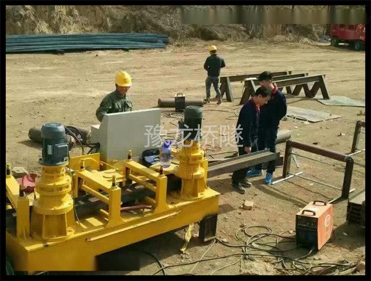 山西忻州工字钢弯曲机/工字钢冷弯机