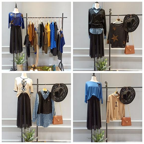 时尚大码女装剪标品牌帕拉娜  折扣店哪来的货源89705025