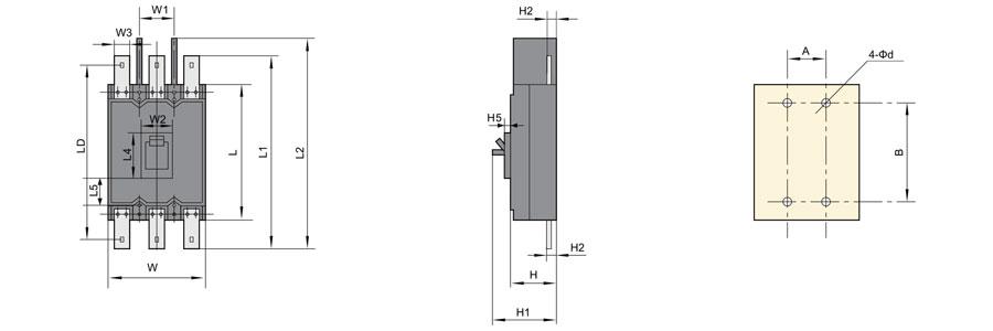 DZ20Y-100/3300 塑壳断路器86863765