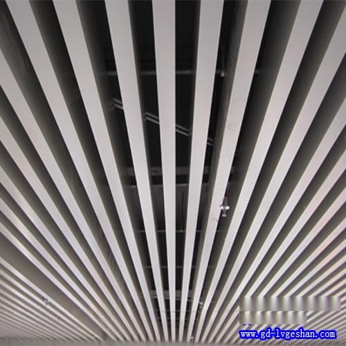 U形铝方通吊顶 U形铝方通价格 铝合金方通