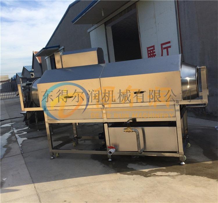 促销洗袋机 油污袋子清洗机 滚筒式毛刷喷淋清洗机817982652