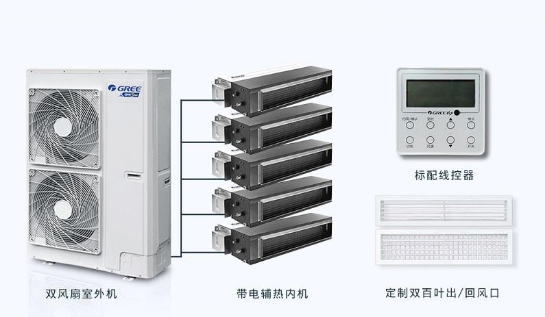 北京格力中央空调家用户式别墅家庭系列 格力风管机117763362