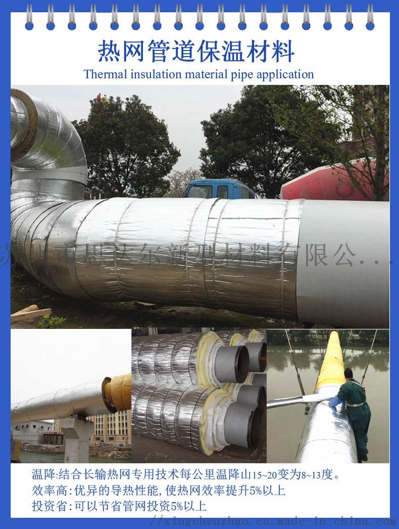 供应管道保温纯铝气泡膜隔热材 低能耗热网抗对流层117336965