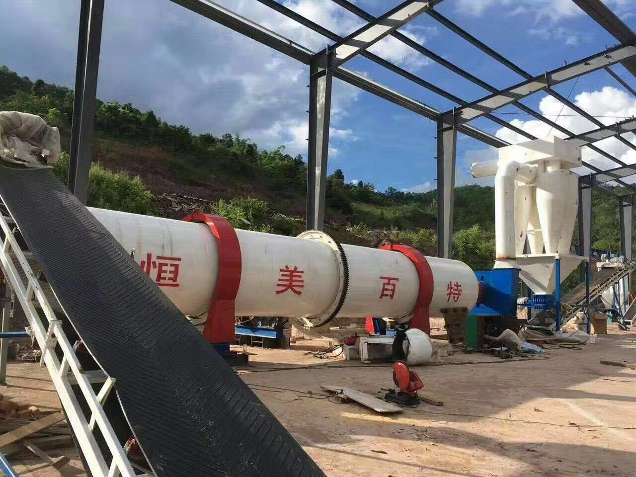 时产2吨木屑烘干机 滚筒烘干机厂家102441112