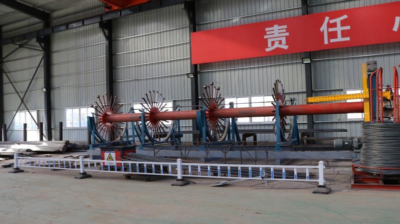 自动化钢筋笼滚焊机/自动钢筋笼绕筋机率