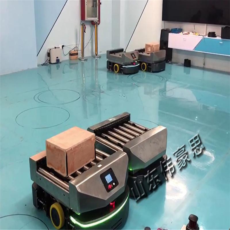 激光导航AGV无轨运输车 智能无人操作AGV小车832749825