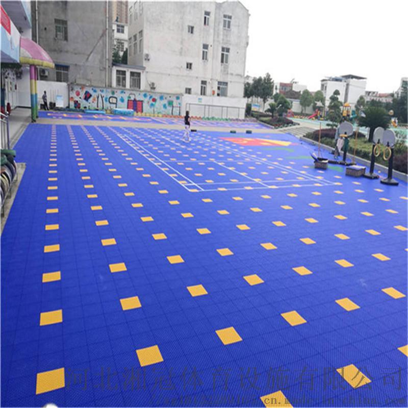 安裝施工懸浮拼裝地板河北湘冠797832385