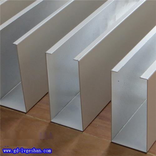 U槽铝方通 吊顶铝方通 U型铝方通厂家