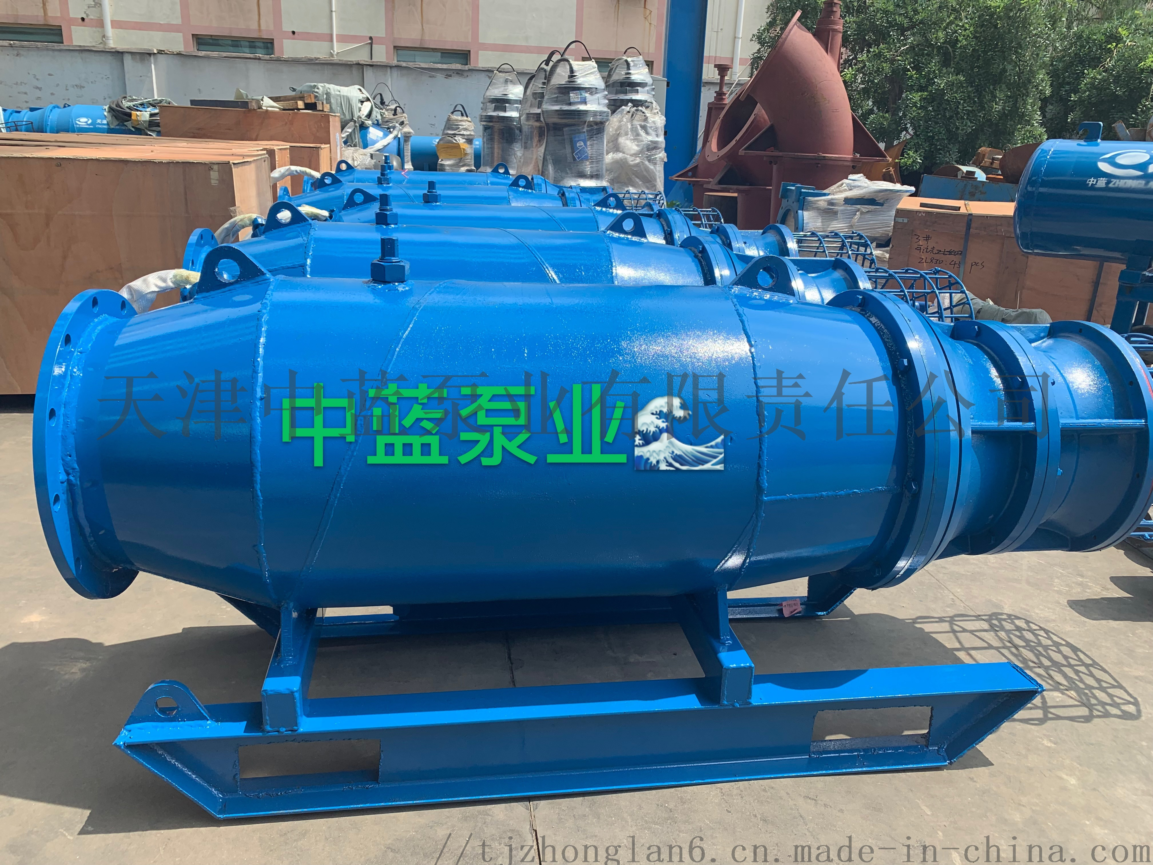 悬吊式安装潜水轴流泵 雪橇式轴流泵厂家812414442