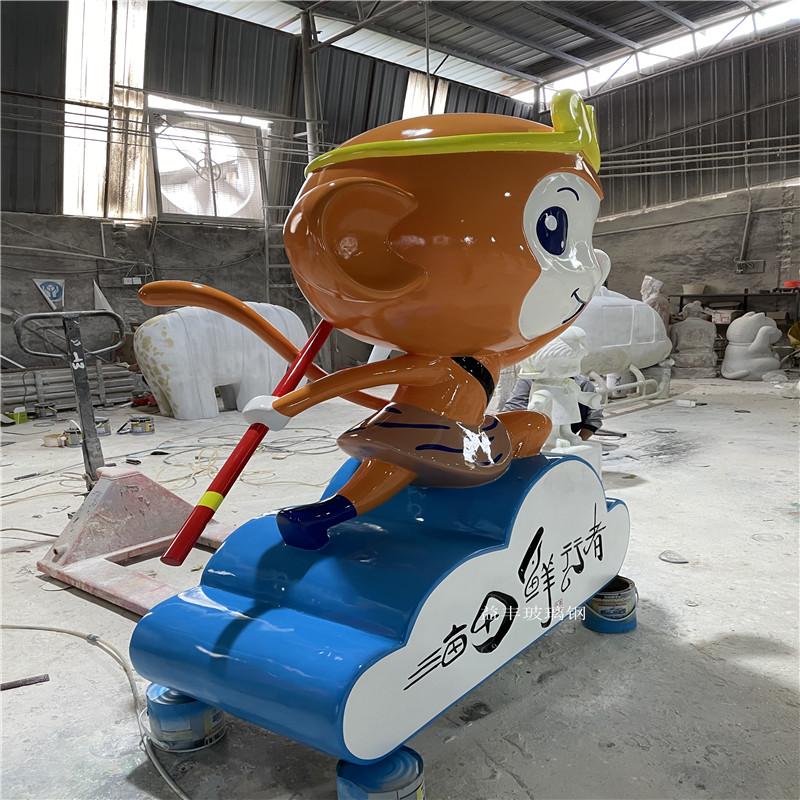 企业吉祥物卡通雕塑 户外玻璃钢卡通雕塑 大型摆件951630735