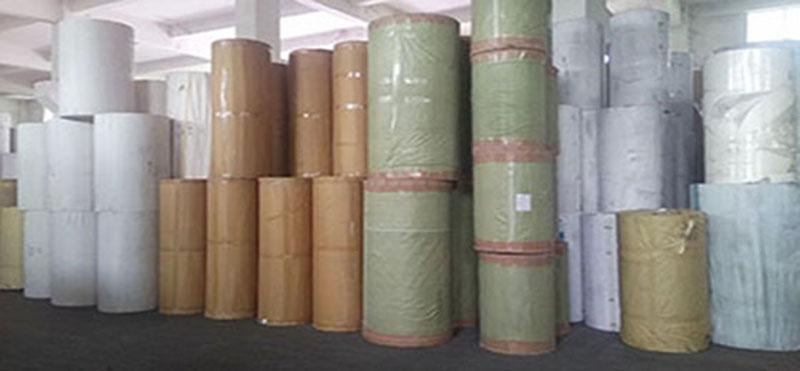 东莞染色防火棉纸彩色包装纸厂家14克卷筒阻燃棉纸78573925