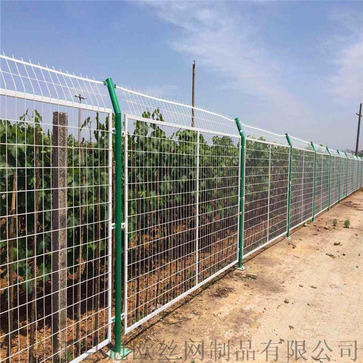 安平县冠欧1.8米高浸塑框架护栏网报价  现货公路防护网38307232