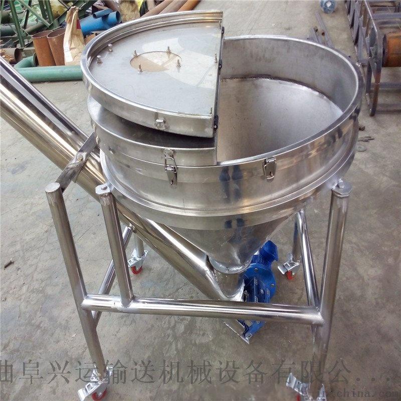 快速上料輸送機 不鏽鋼管式加料機 耐腐蝕上料機44414562