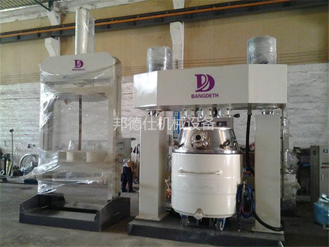 供应湖南5000升强力分散机 硅酮耐候胶生产设备861615145