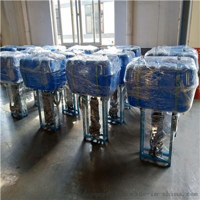 漂浮式安放潜水排污泵水池取水758695802