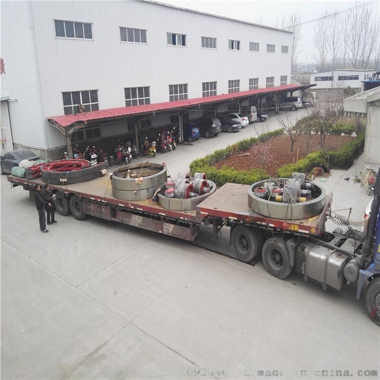 锻打整体加工滚筒烘干机托轮带筋板式烘干机托滚厂家生产报价147772965