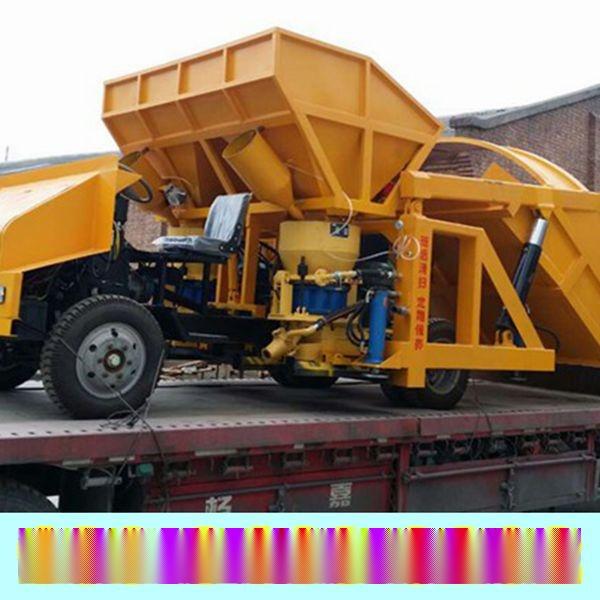 吉林白山市吊装式喷浆车铸造辉煌喷浆64喷浆管