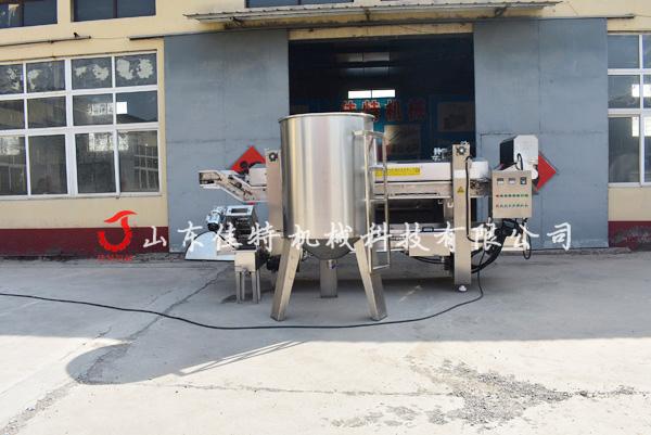 厂家专业研发江米条油炸机 大型连续式油炸生产线786070862