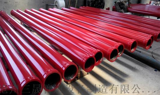 三一泵车管 三一六代泵管 泵车臂架管 泵车双层泵管96135332