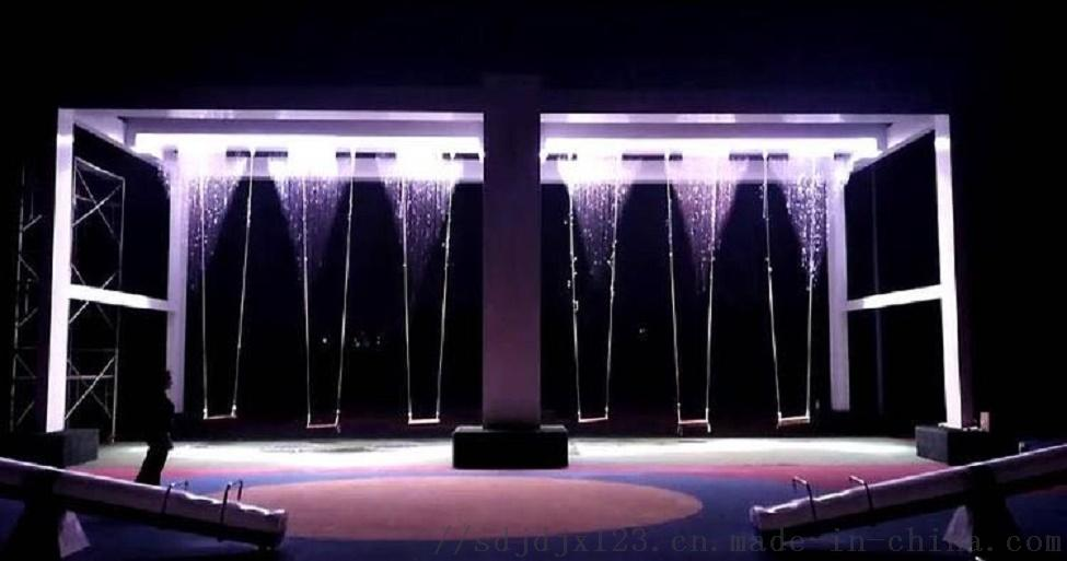 水幕秋千厂家生产定制智能互动设备瀑布秋千120080192