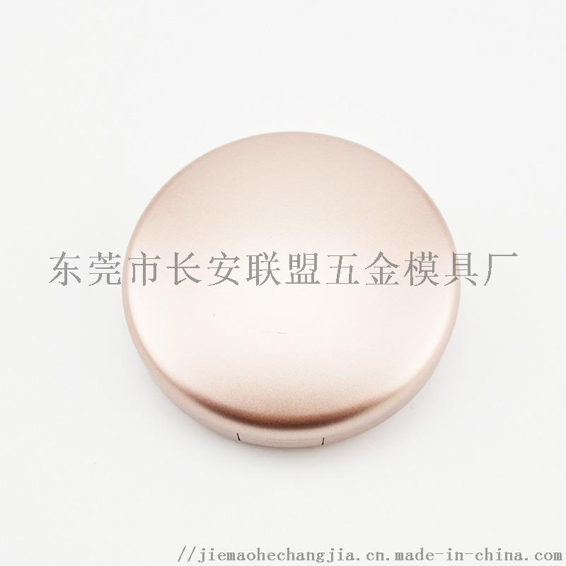 噴漆金色帶鏡圓形假睫毛盒68462942