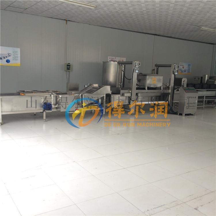 天津 鸡米花油炸生产线 自动鸡排油炸机 油炸设备770992622