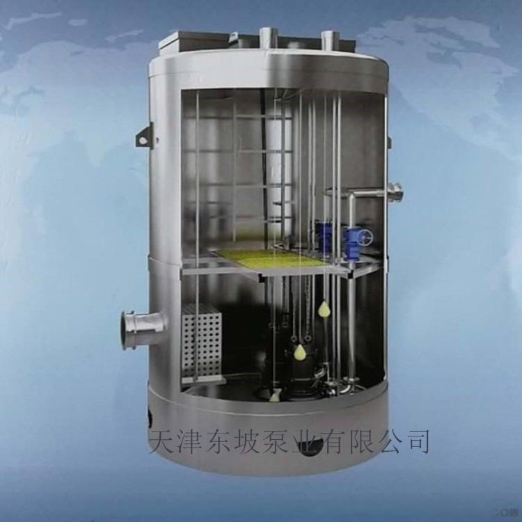 玻璃钢预制一体化泵站 污水泵站826646192