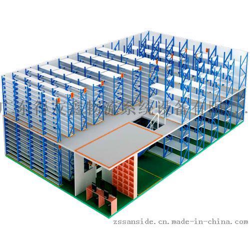 建德仓储重型货架,阁楼货架就选十五年老品牌得友鑫57451525