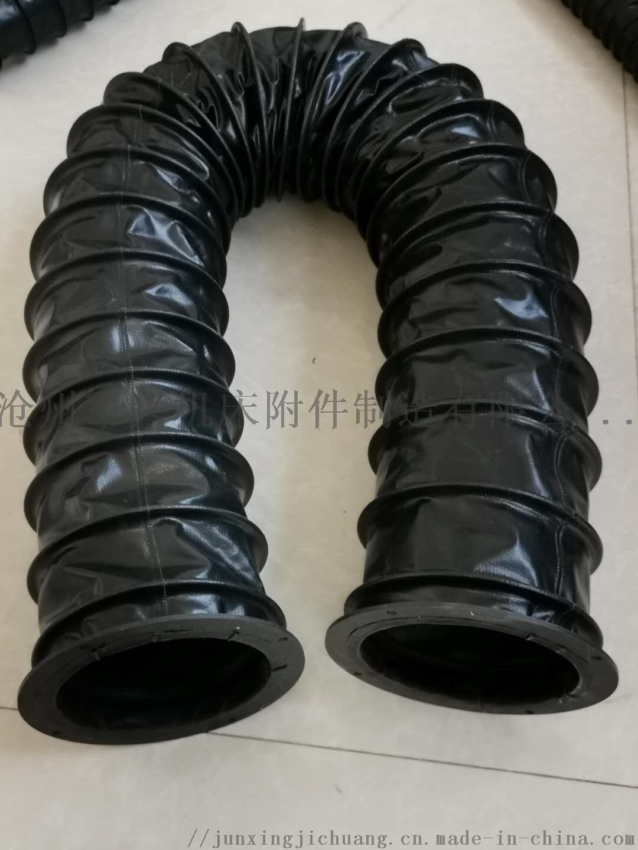 圆筒式伸缩丝杠 立柱 油缸用防尘罩 丝杠保护套112351872