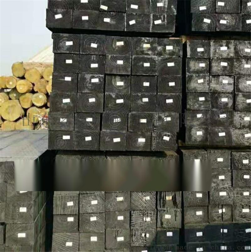 廠家直銷油浸枕木 鐵路道岔枕木 供應防腐樟子鬆枕木108947302