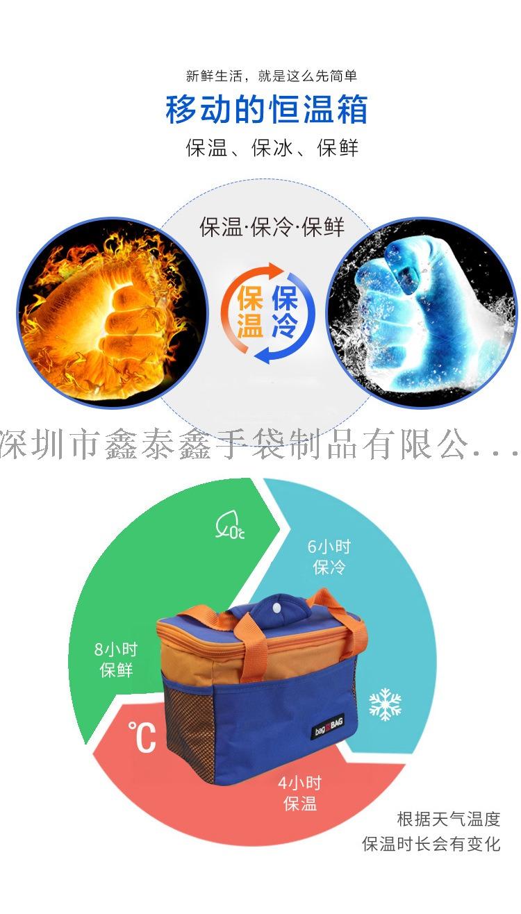 深圳厂家生产冰袋外卖保温袋128436385