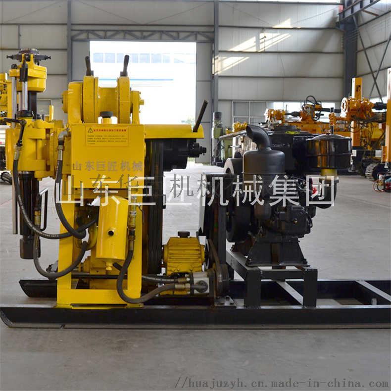 巨匠提供HZ-130Y百米勘探鑽機全液壓岩心鑽機817441742
