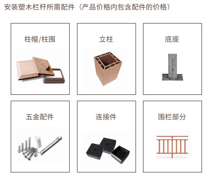 塑木護欄、塑木欄杆、塑木扶手、塑木圍欄、塑木柵欄56461622
