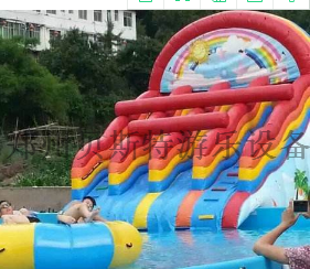 四川水上樂園水上遊樂設施廠家定做直銷支架游泳池776827425