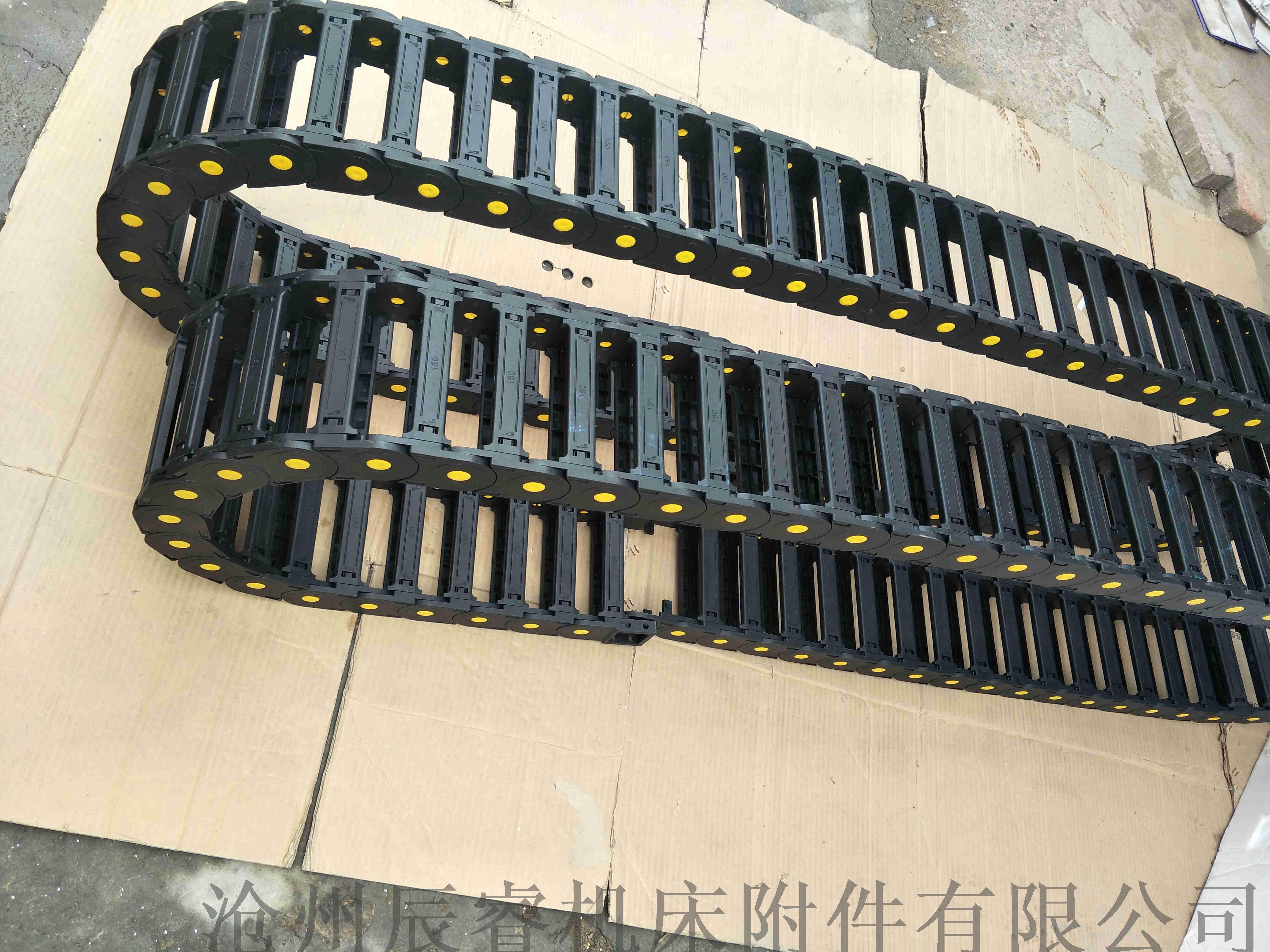 尼龍66橋式塑料拖鏈 濟寧路橋設備塑料拖鏈828553585