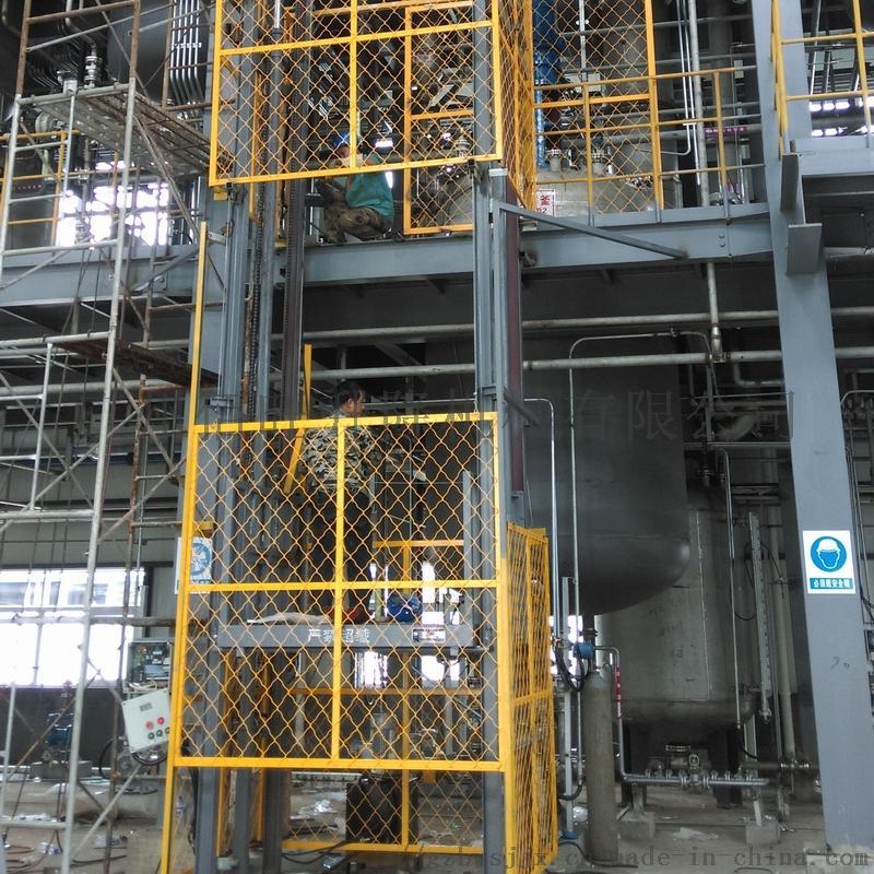 佰旺牌工業用液壓防爆貨梯特點882448835
